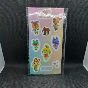 ** Free ** w/$25 Purchase Animal Crossing Stickers